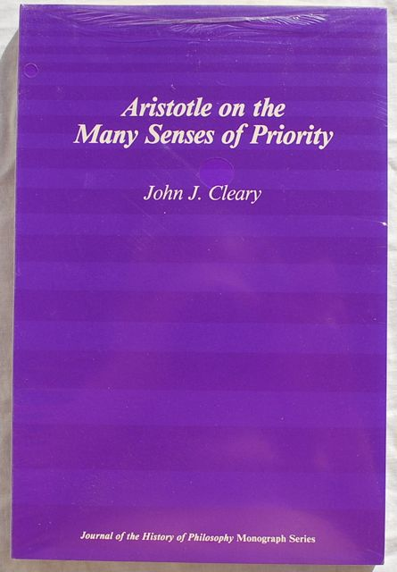 Image for Aristotle on the Many Senses of Priority