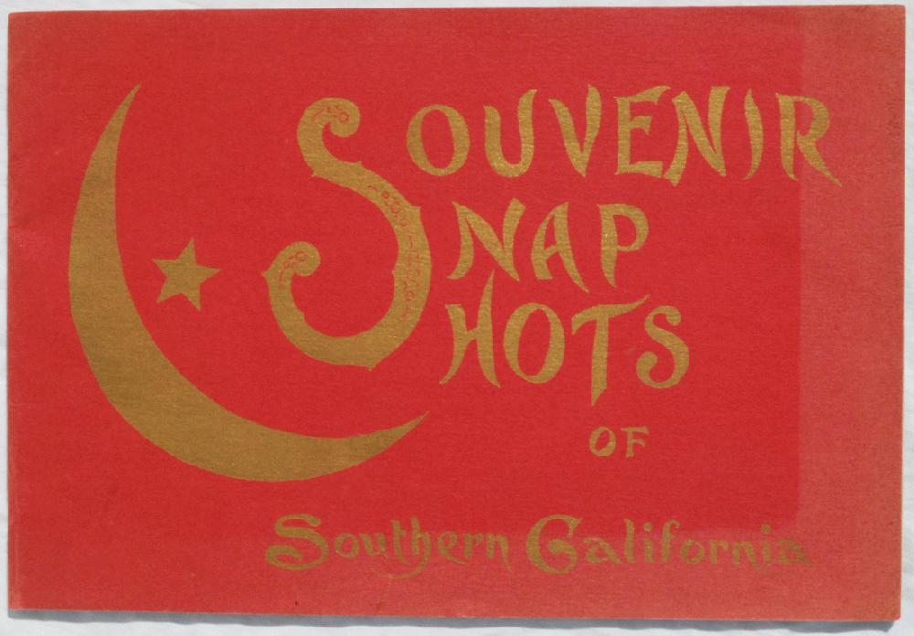 Image for Souvenir Snap Shots of Southern California.