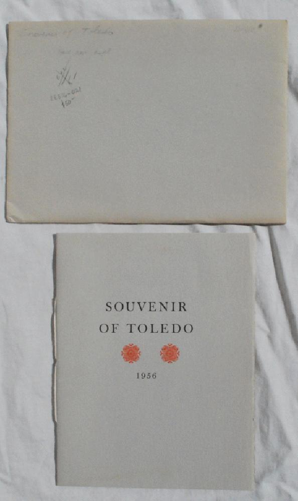 Image for A Souvenir of Toledo, 1956 [Cover Title].