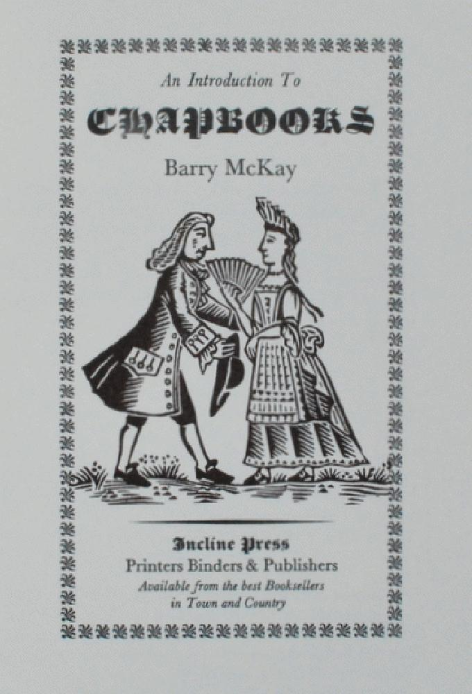 Image for An Introduction to Chapbooks.