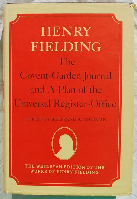 Image for The Covent-Garden Journal and A Plan of the Universal Register-Office