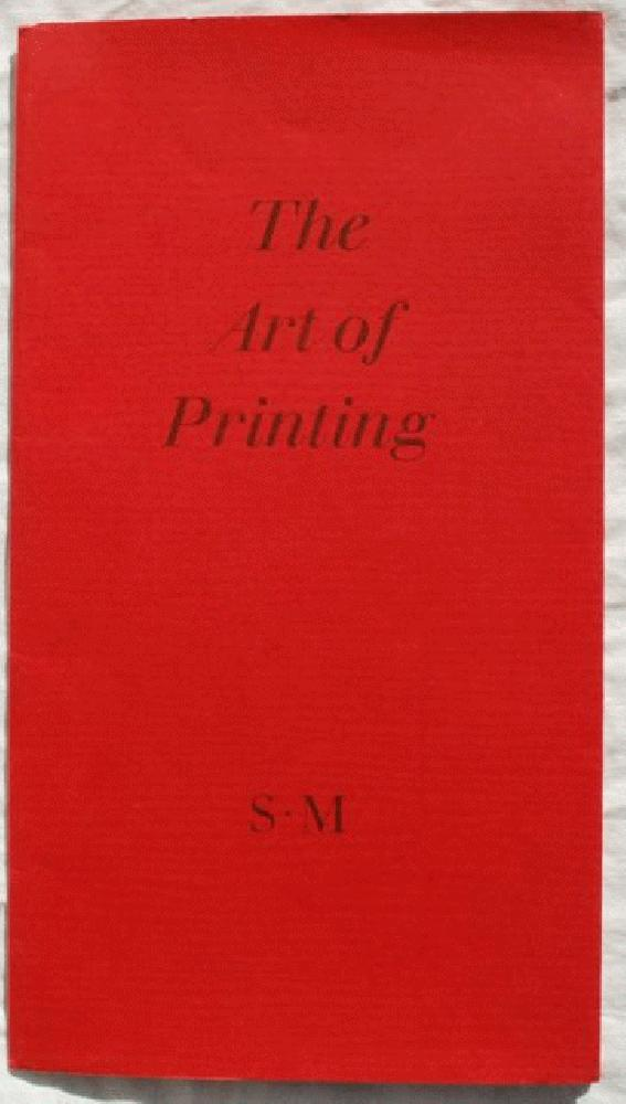 Image for The Art of Printing.