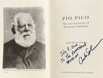 Image for Pio Pico: The Last Governor of Mexican California