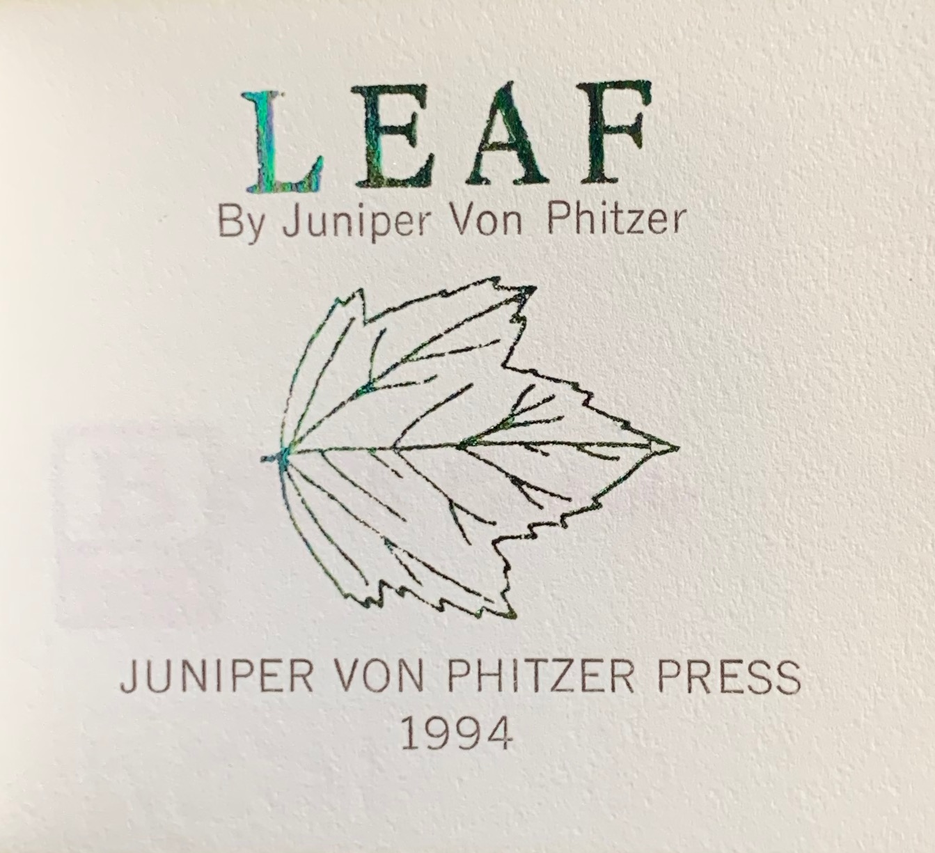 Image for Leaf