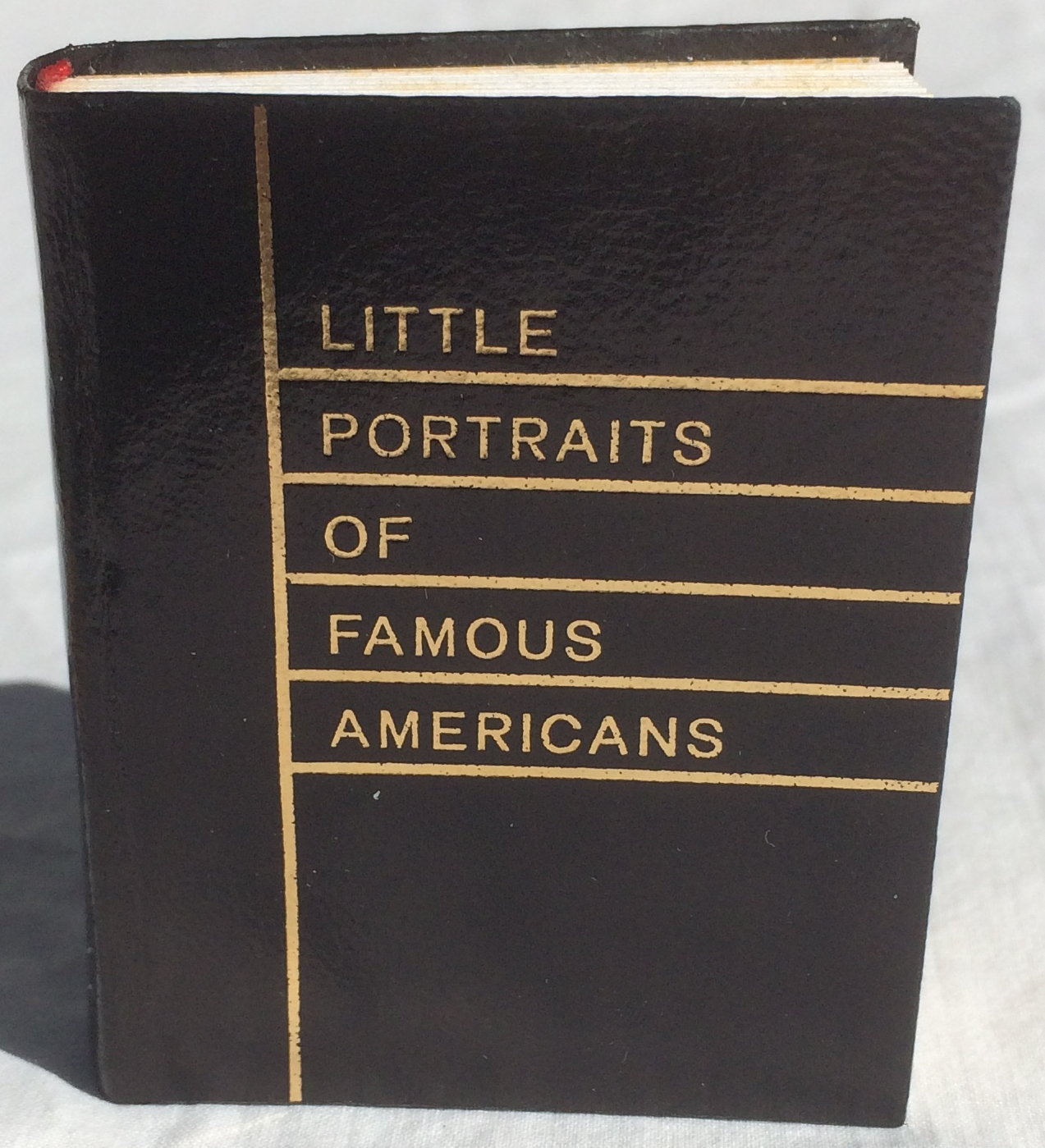 Image for Little Portraits of Famous Americans.