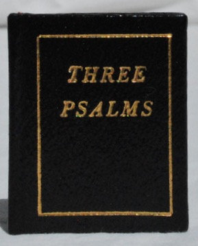 Image for Three Psalms.