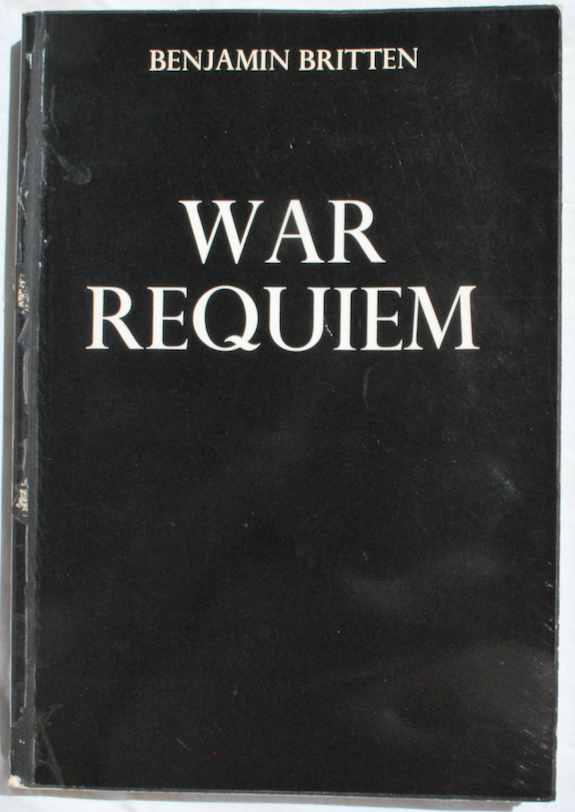Image for War Requiem, op. 66.  Words from the Missa pro Defunctis and the Poems of Wilfred Owen.