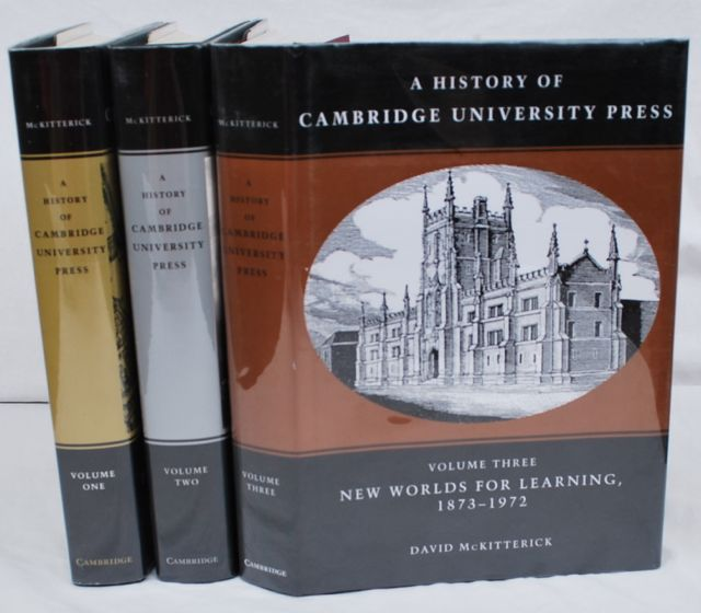 Image for A History of Cambridge University Press [3 Volumes, Complete].
