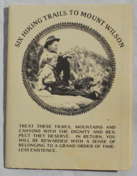 Image for Six Hiking Trails to Mount Wilson.