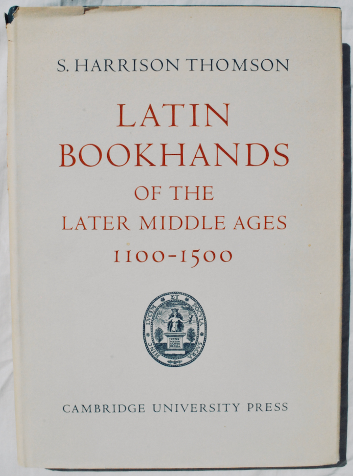Image for Latin Bookhands of the Later Middle Ages, 1100-1500