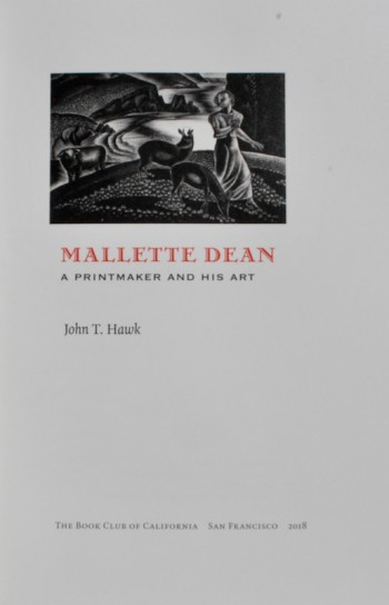 Image for Mallette Dean: A Printmaker and His Art