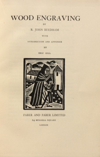Image for Wood Engraving. With Introduction and Appendix by Eric Gill