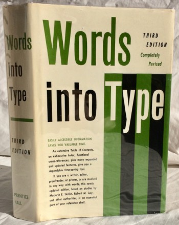 Image for Words into Type