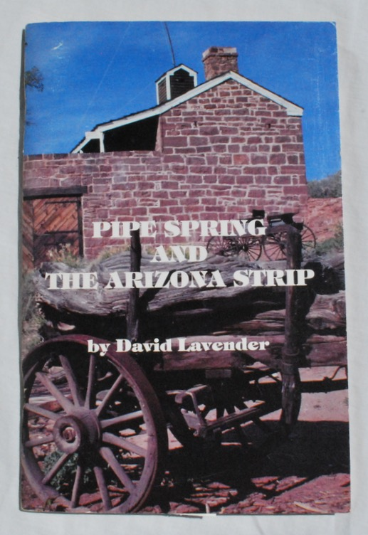 Image for Pipe Spring and the Arizona Strip.