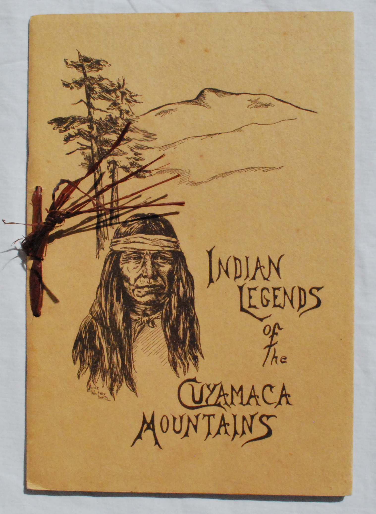Image for Indian Legends of the Cuyamaca Mountains.