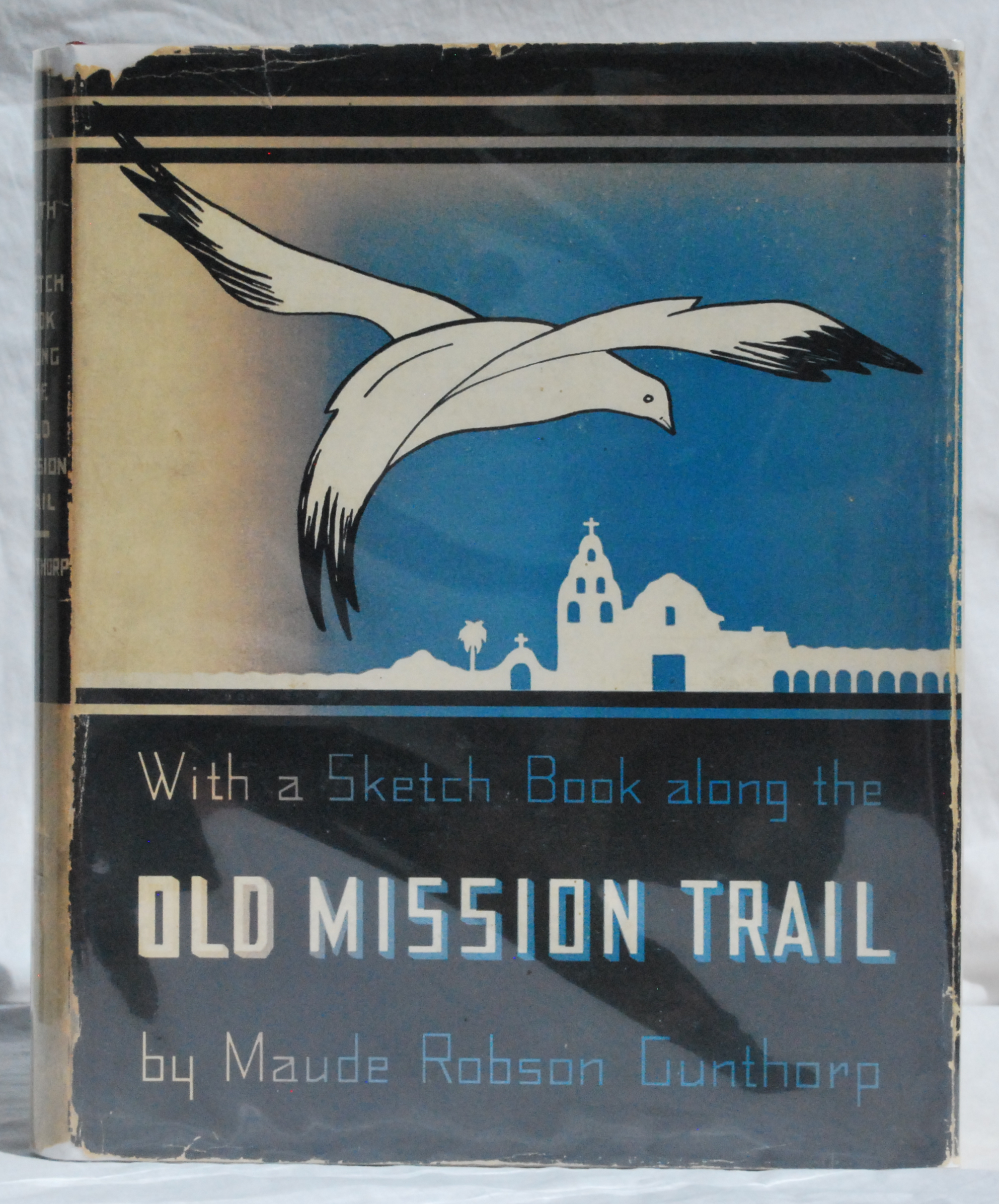 Image for With a Sketch Book Along the Old Mission Trail.