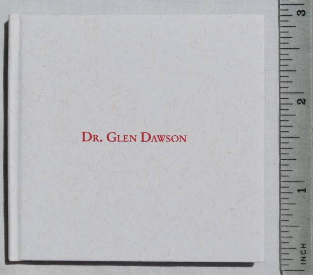 Image for Conferring the Doctor of Humane Letters Degree upon Glen Dawson.