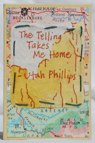 Image for The Telling Takes Me Home.