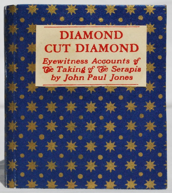 Image for Diamond Cut Diamond: Eyewitness Accounts of the Taking of the Serapis by John Paul Jones.