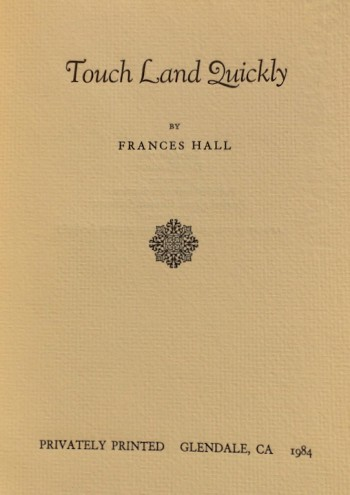 Image for Touch Land Quickly