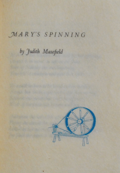 Image for Mary's Spinning