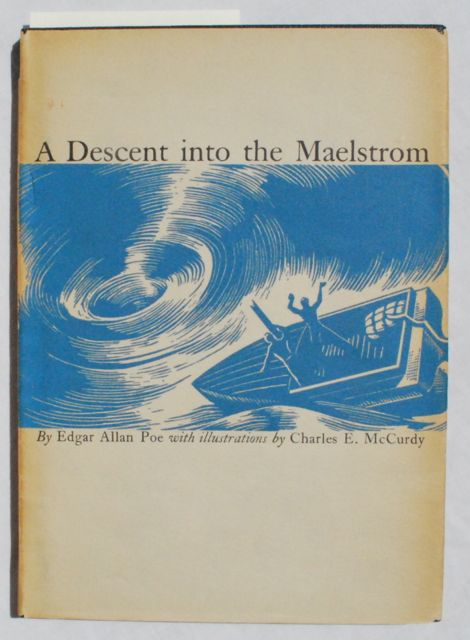 Image for A Descent into the Maelstrom.  Illustrations by Charles McCurdy.