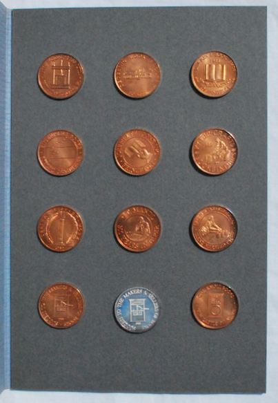 Image for Trade Tokens of British and American Booksellers and Bookmakers, with Specimens of Eleven Original Tokens Struck Especially for this Book.