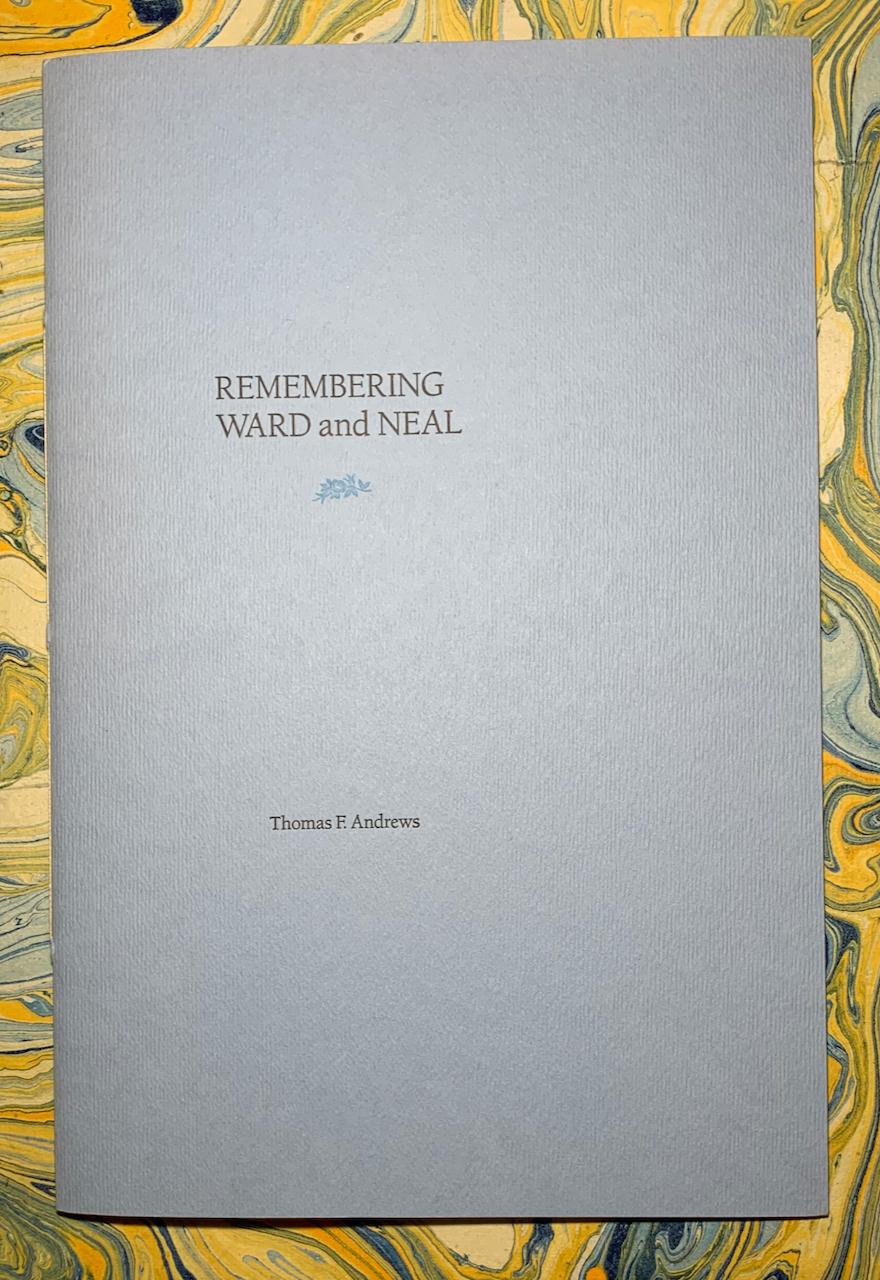 Image for Remembering Ward and Neal [Cover Title]