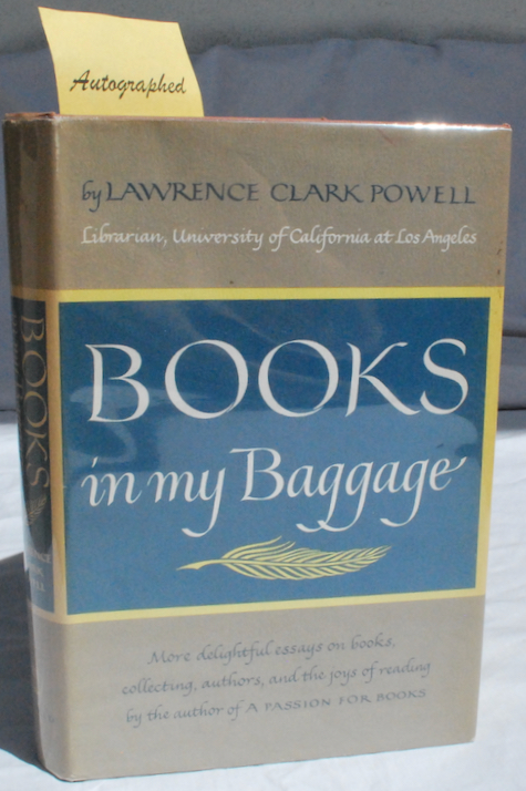 Image for Books in My Baggage: Adventures in Reading and Collecting.
