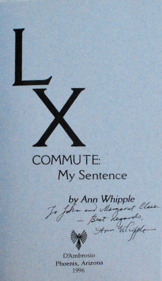 Image for LX Commute: My Sentence