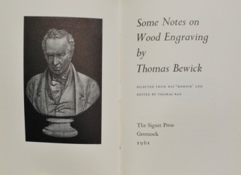 Image for Some Notes on Wood Engraving: Selected from his Memoir and Edited by Thomas Rae