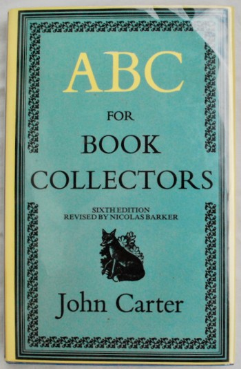 Image for ABC for Book Collectors
