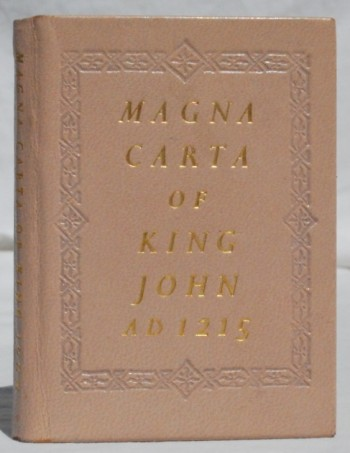 Image for Magna Carta of King John AD 1215
