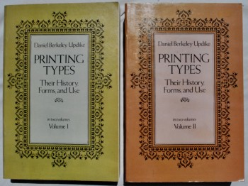 Image for Printing Types: Their History, Forms, and Use