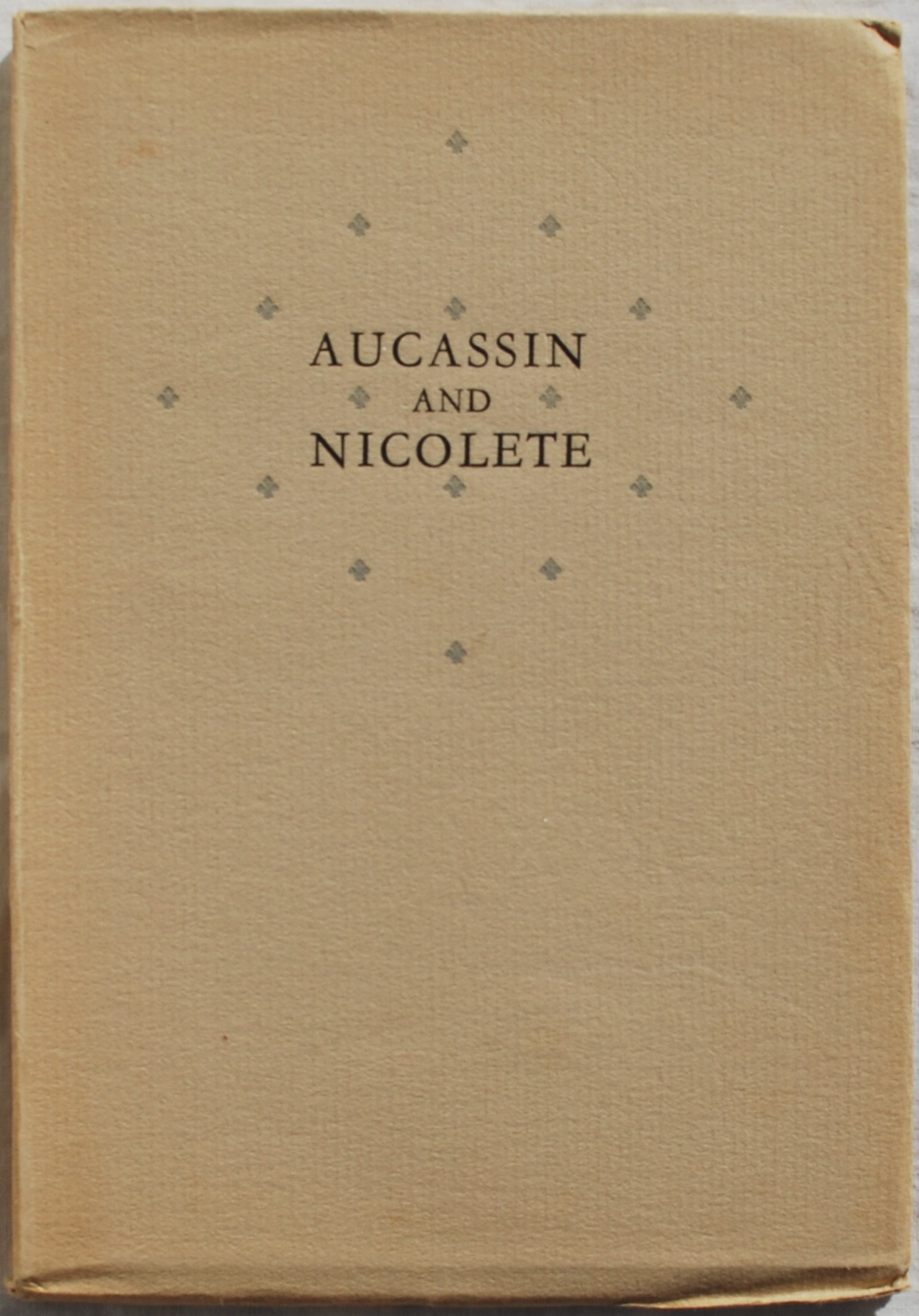 Image for Aucassin and Nicolete