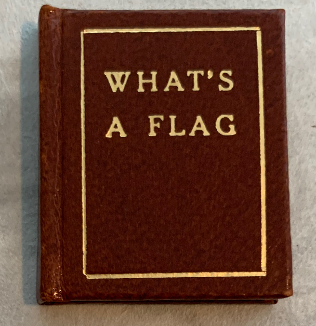 Image for What's a Flag