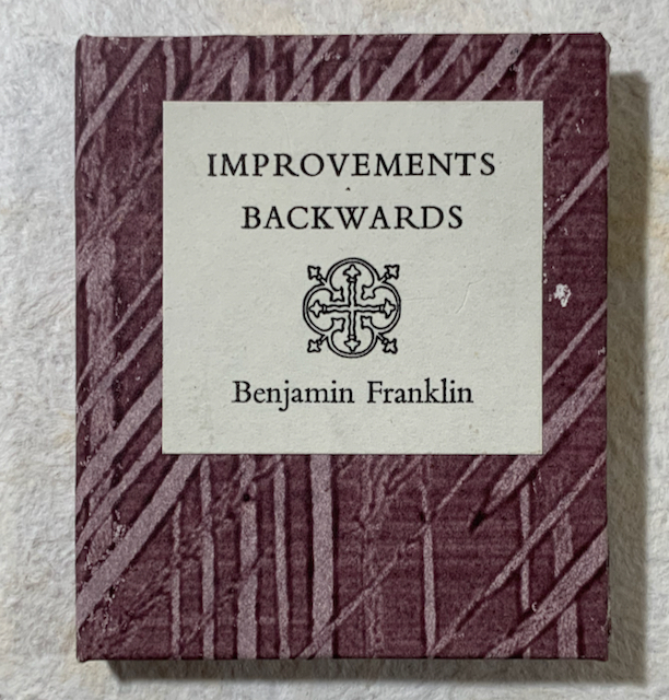 Image for Improvements Backwards: A Letter to Noah Webster