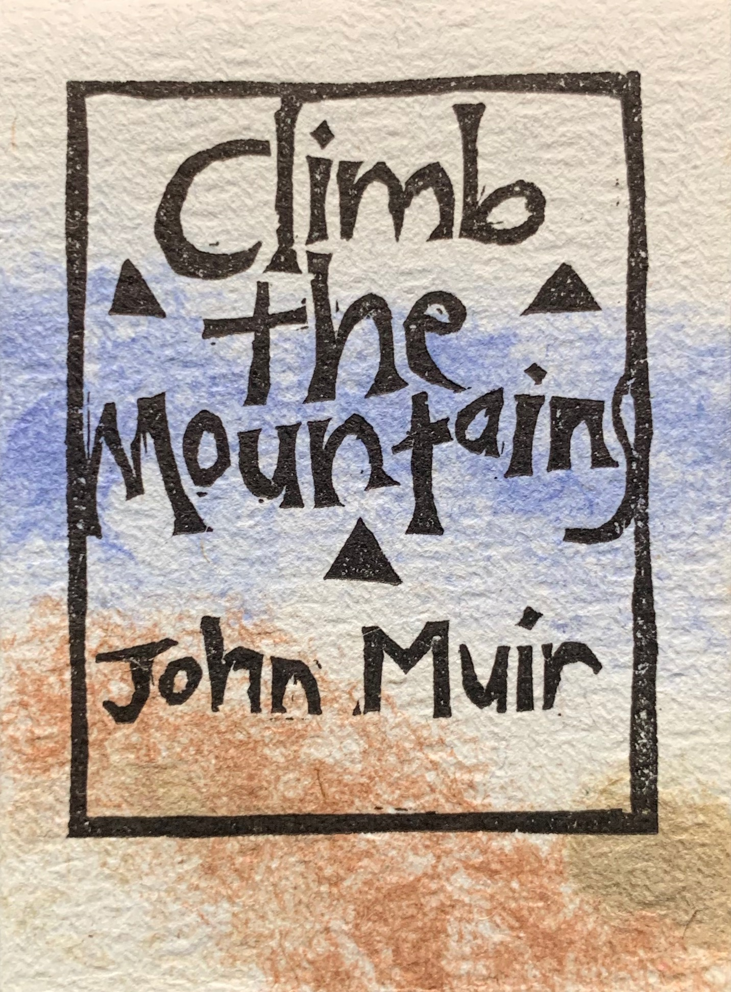 Image for Climb the Mountains