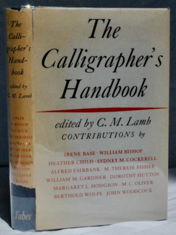 Image for The Calligrapher's Handbook: Essays by M. C. Oliver [and others]