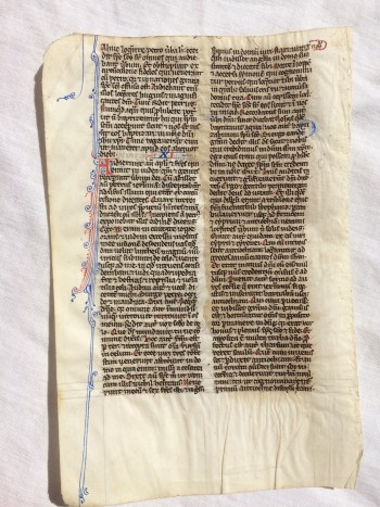 Image for 75 Leaves from a Medieval Manuscript Pocket Bible