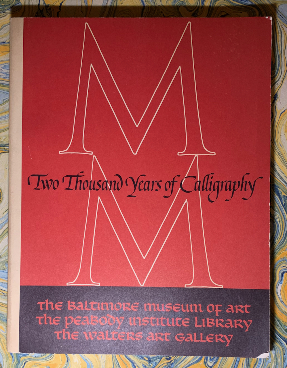 Image for 2,000 Years of Calligraphy: A Three-Part Exhibition. June 6 - July 18, 1965. A Comprehensive Catalog