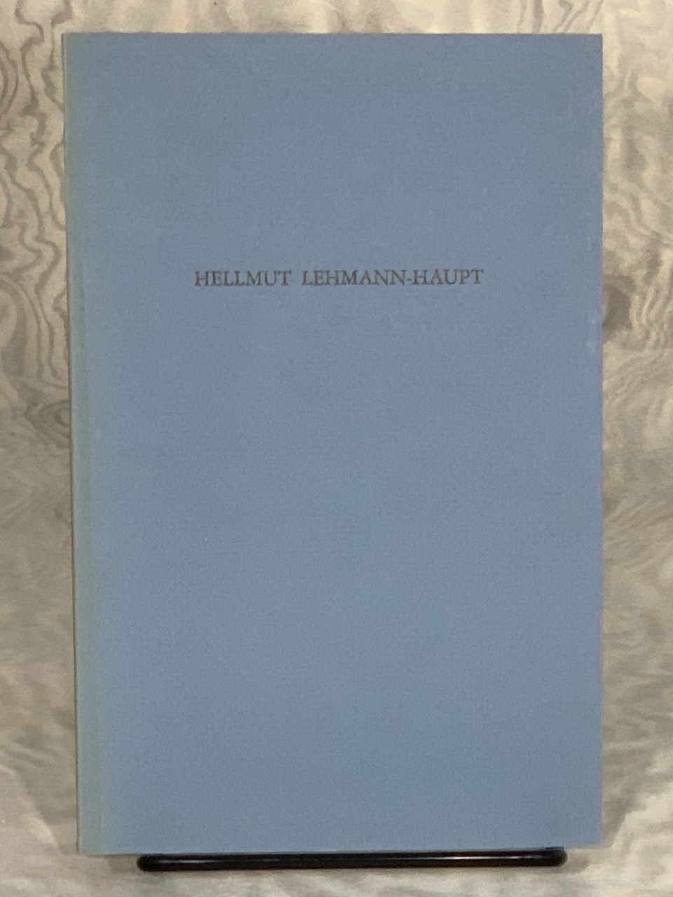 Image for Hellmut Lehmann-Haupt: A Bibliography by Donald C. Dickinson