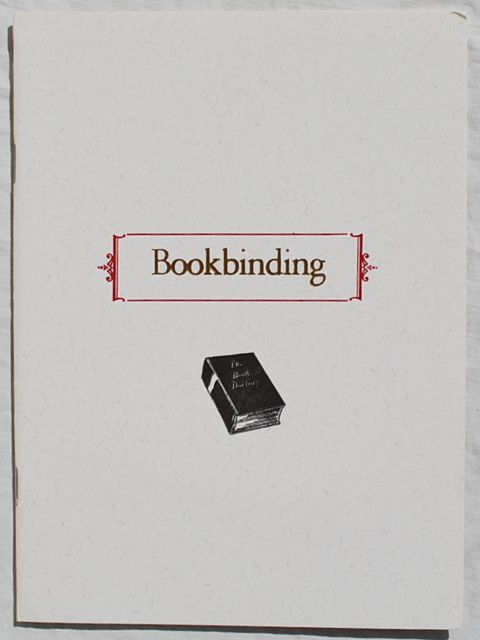Image for Bookbinding & Printing Facts.