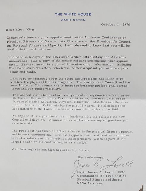 Image for Small Archive of letters, mostly written to Billie Jean King, with photographs.