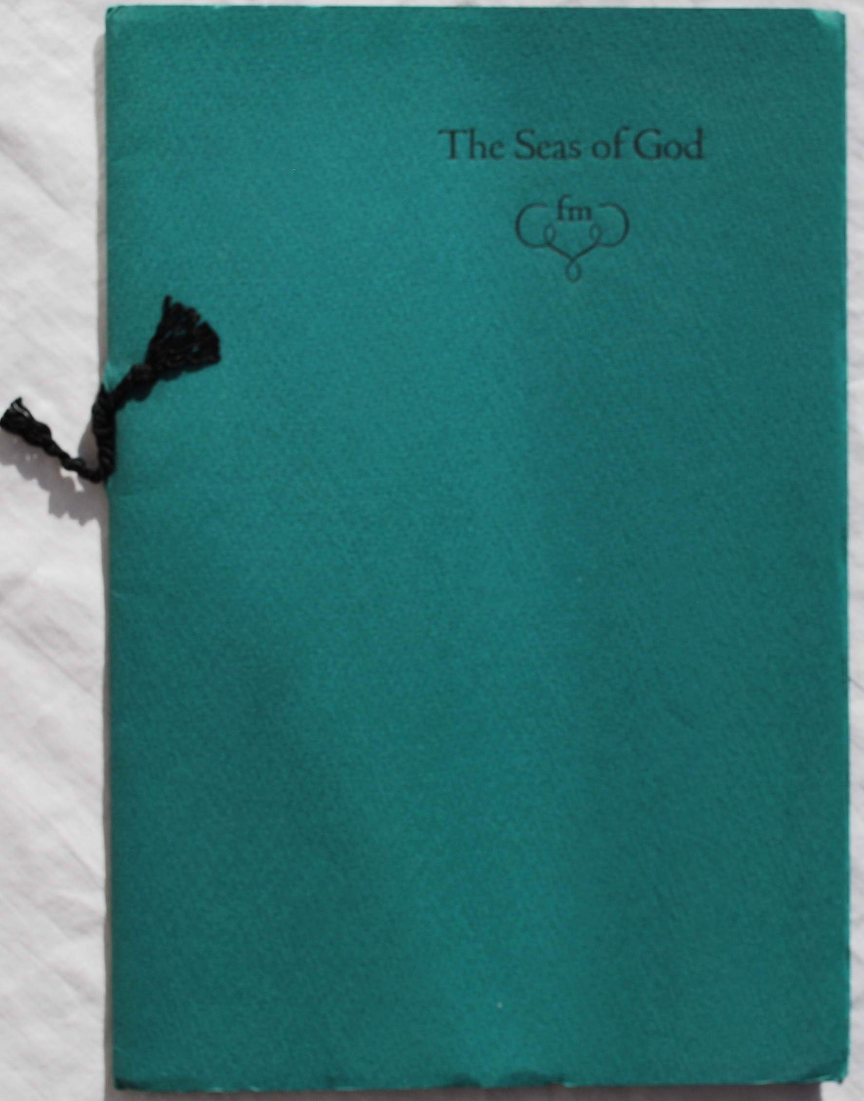 Image for The Seas of God.