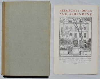Image for Kelmscott, Doves, and Ashendene.  The Private Press Credos with an Introduction by Will Ransom