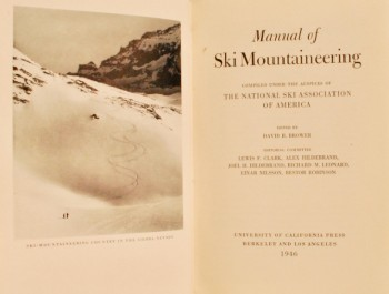 Image for Manual of Ski Mountaineering